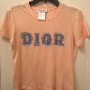 Christian Dior Logo Tee